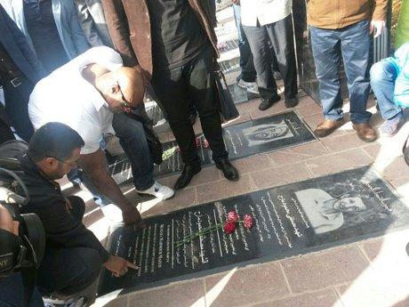 ادای احترام رونی کلمن به شهدا ، رونی کلمن در ایران