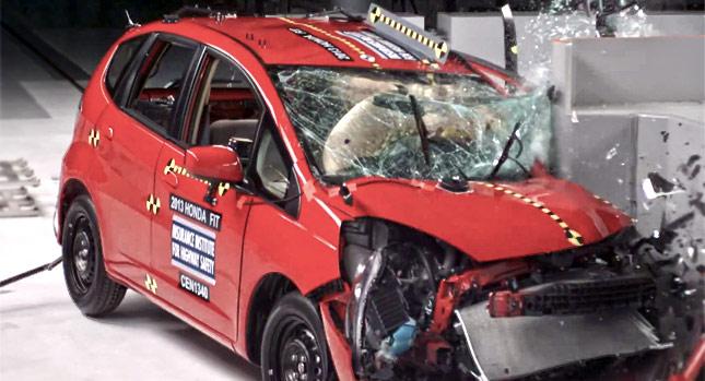 آخرین بررسی تست تصادف خودروها در اروپا