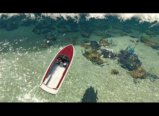 شفاف سازی آب دریا در بازی GTA V