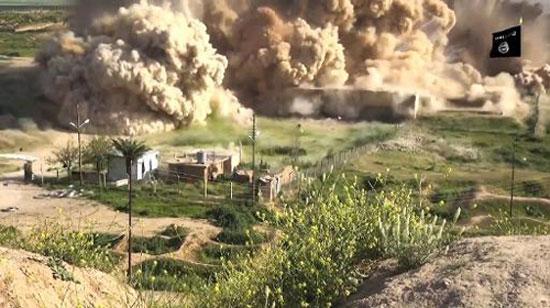 داعش نگین تمدن آشور را ویران کرد