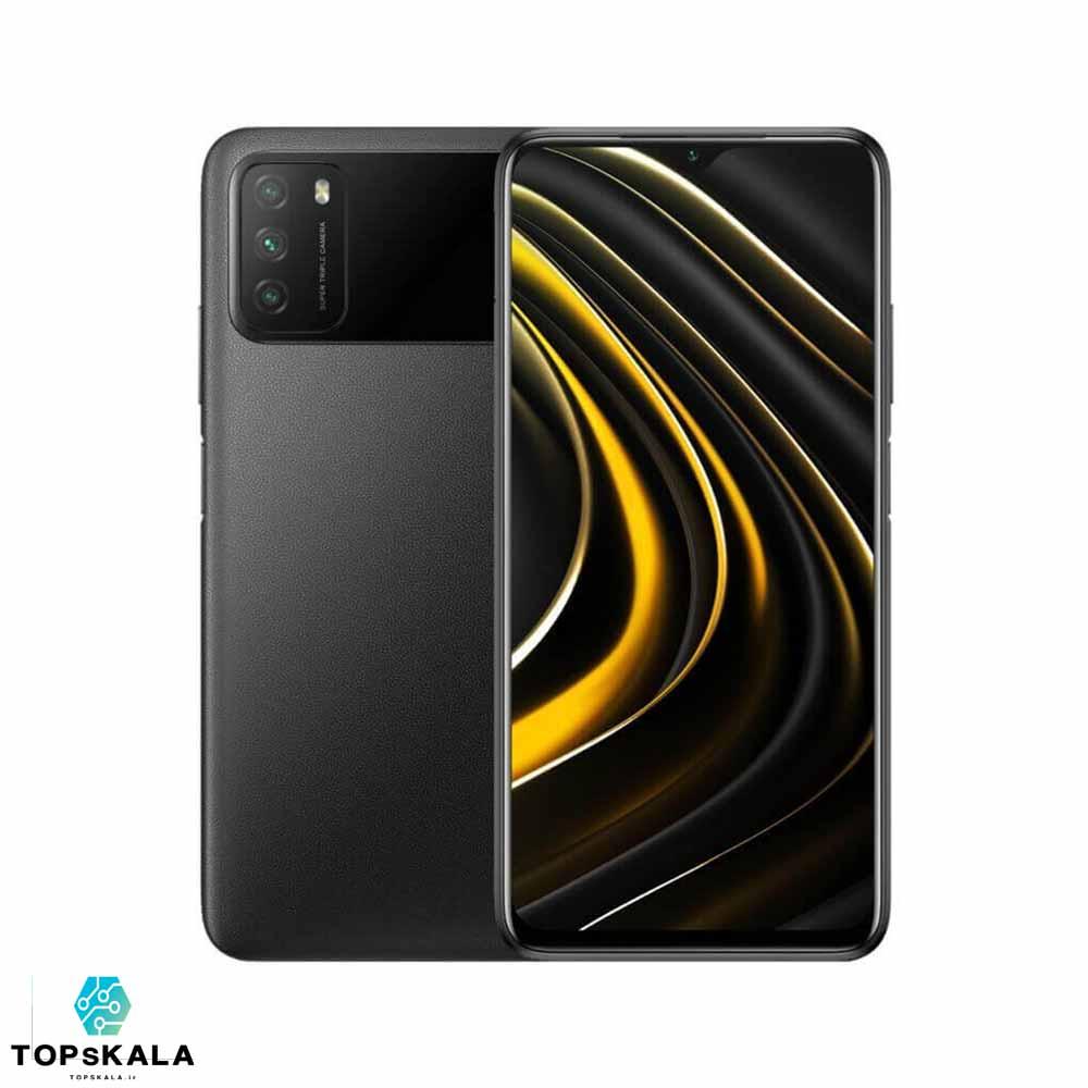 گوشی موبایل شیائومی مدل POCO M3 M2010J19CG ظرفیت 128 گیگابایت و رم 4 گیگابایت / Xiaomi POCO M3 M2010J19CG Dual SIM 128GB Mobile Phone