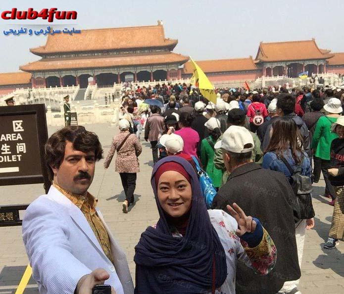 جدید ترین عکس های پشت صحنه سریال «پایتخت4» در چین