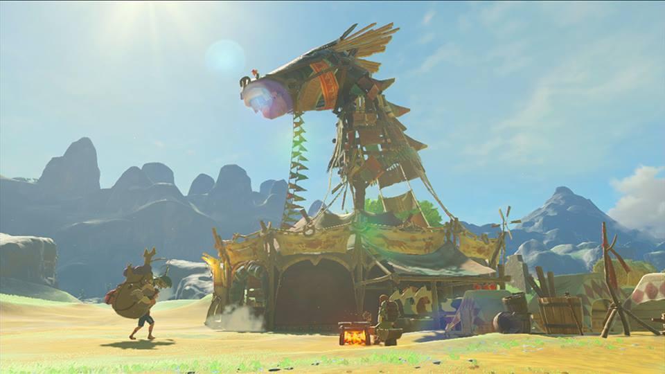 تصاویر جدیدی از بازی Zelda: Breath of the Wild منتشر شد