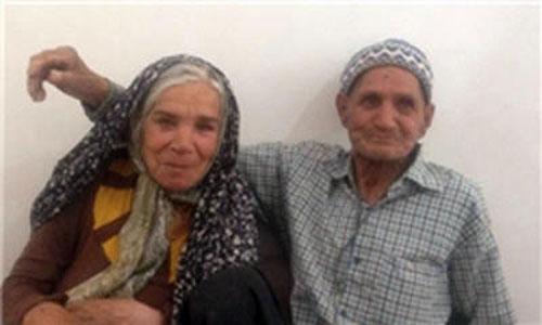 ازدواج مسنترین زوج ایرانی در میبد