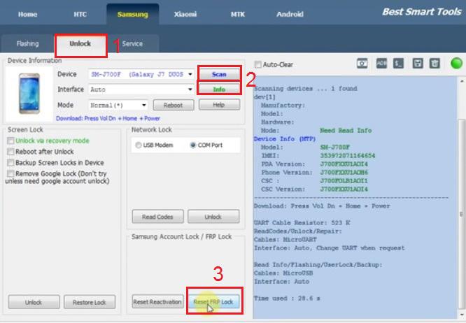 آموزش حذف قفل FRP با دانگل BST برای گوشی های سامسونگ ، شیائومی و Vivo :