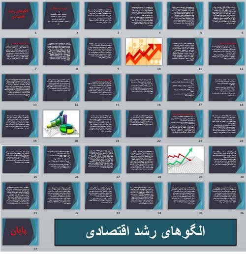 الگوهای رشد اقتصادی