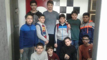 مسابقه هفتگی سال ۹۷باشگاه شطرنج ذهن برتر