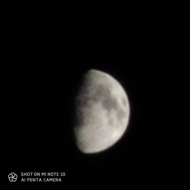 تصویر ثبت شده با لنز تله TELE