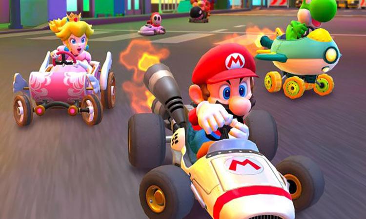 بازی Mario Kart Tour