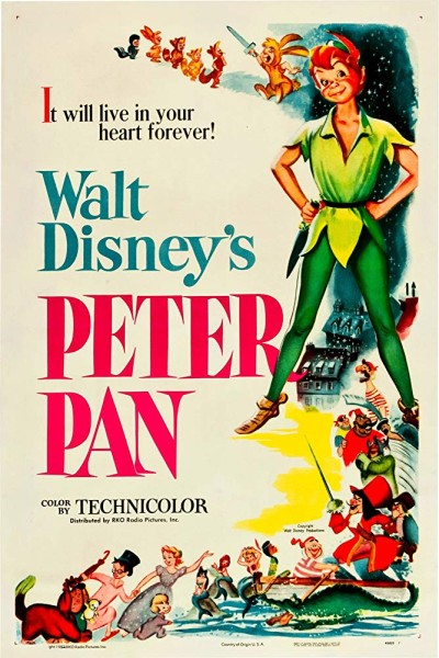 دانلود انیمیشن Peter Pan 1953