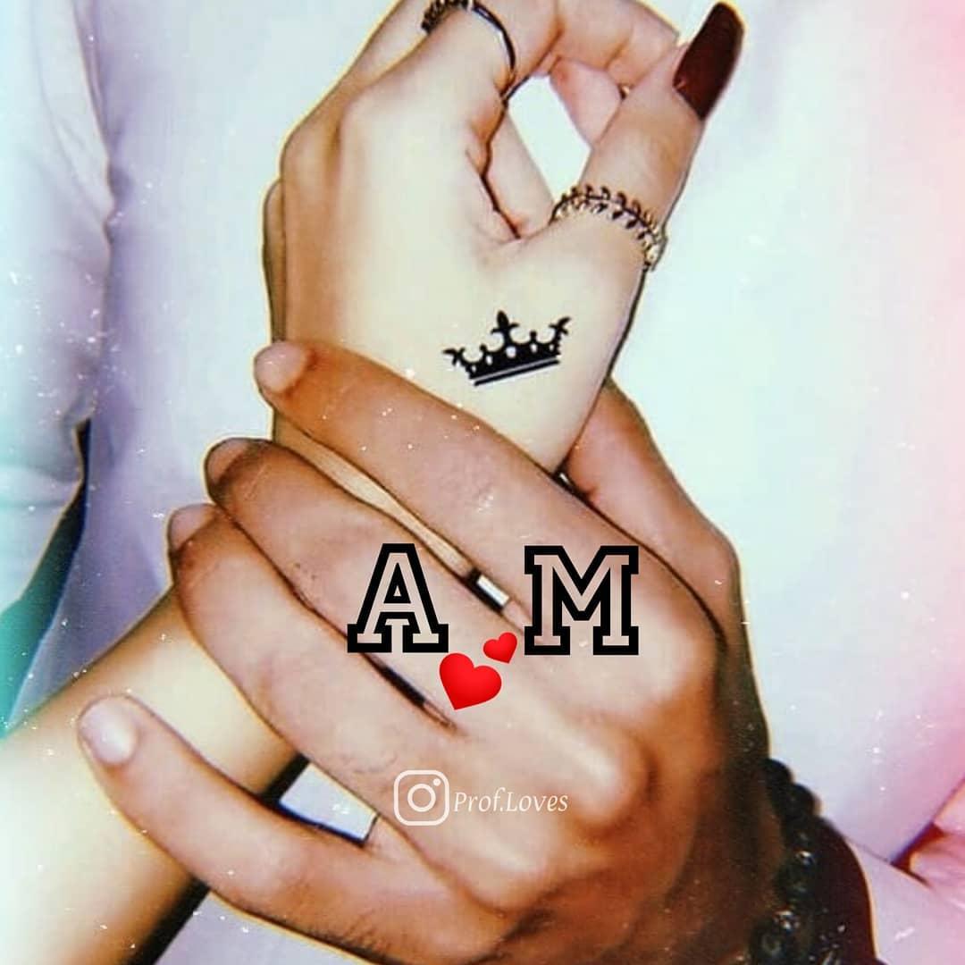 حرف m و a