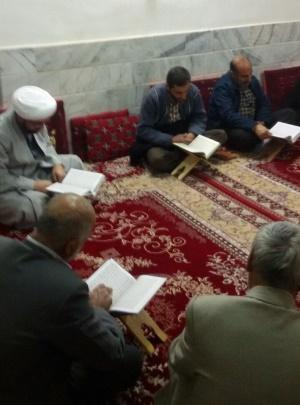 تفسیر قرآن در روستای ملوند