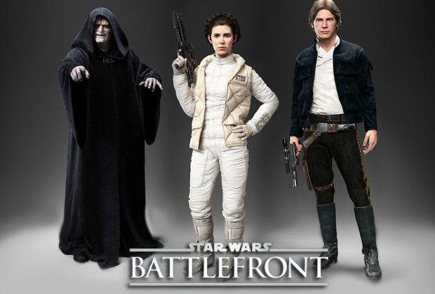گیمپلی عنوان Star Wars: Battlefront به روایت قهرمانان بازی