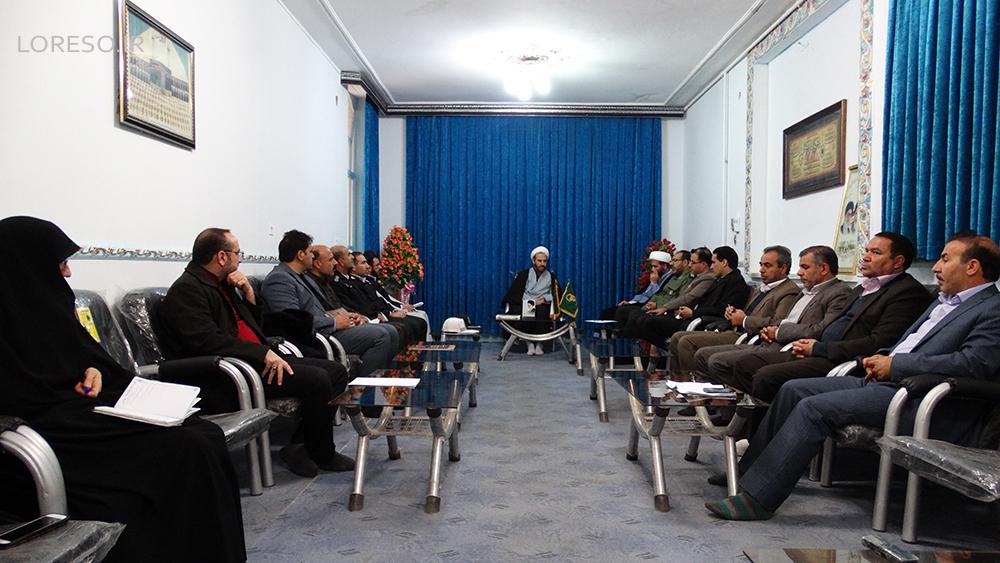 جلسه هماهنگی مراسم 9 دی در الشتر
