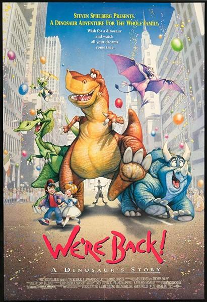 دانلود انیمیشن We're Back A Dinosaur's Story 1993