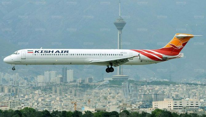 پروازهای شرکت هواپیمایی کیش به دبی مجددا برقرار شد