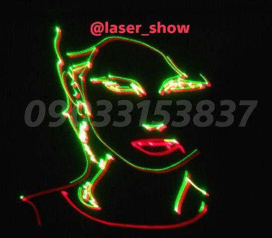 لیزر متنی(لیزر تبلیغاتی)لیزر نوشتاری