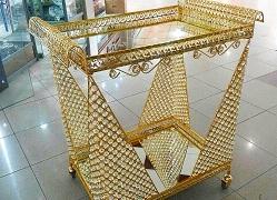 قیمت میز بار طلایی
