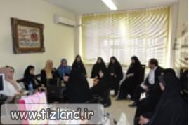 بازدید زنان فرهیخته و اساتید دانشگاه های کشور عمان از دبیرستان فرزانگان 1 منطقه 6 آموزش و پرورش تهرا