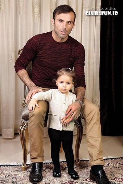 عکس از سیدجلال حسینی و دخترش