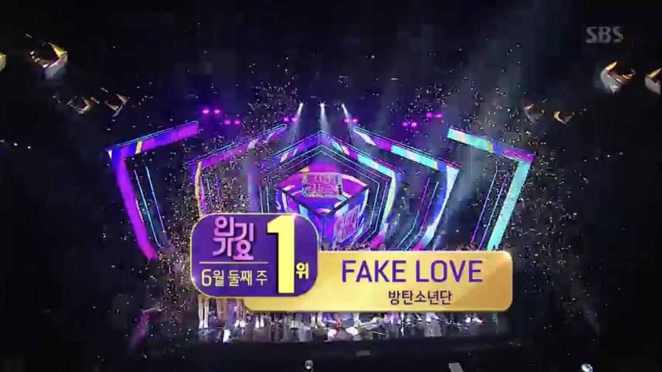8pwc dftxrgzu8aabprl - [Video] BTS at SBS Inkigayo [180610] #FakeLove12thWin
