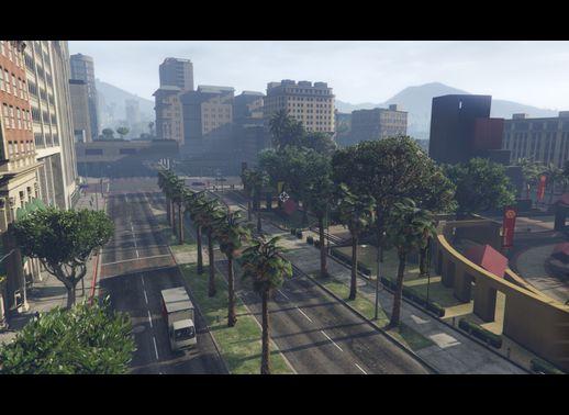 پارک مرکزی برای GTA V