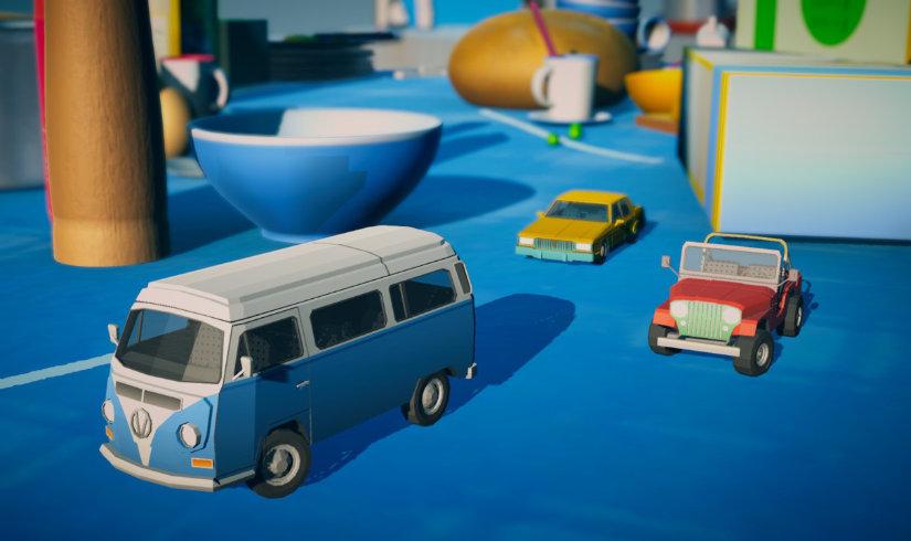 بازی Tiny Racer برای نینتندو سوئیچ