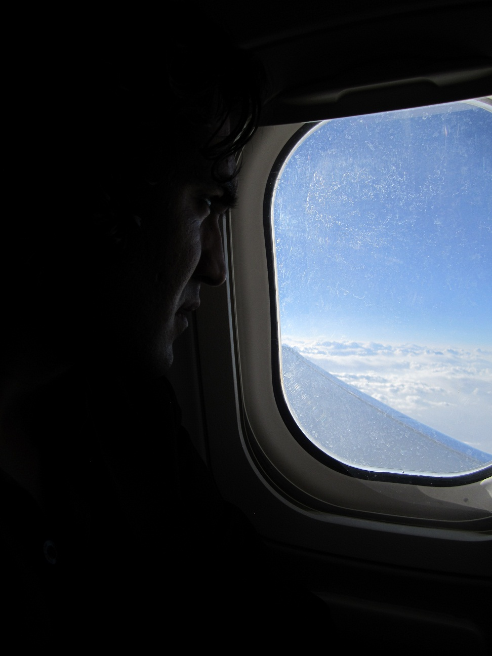 Image by AHMAD MAHMOOD IMPERATOR on plane to Afghanistan