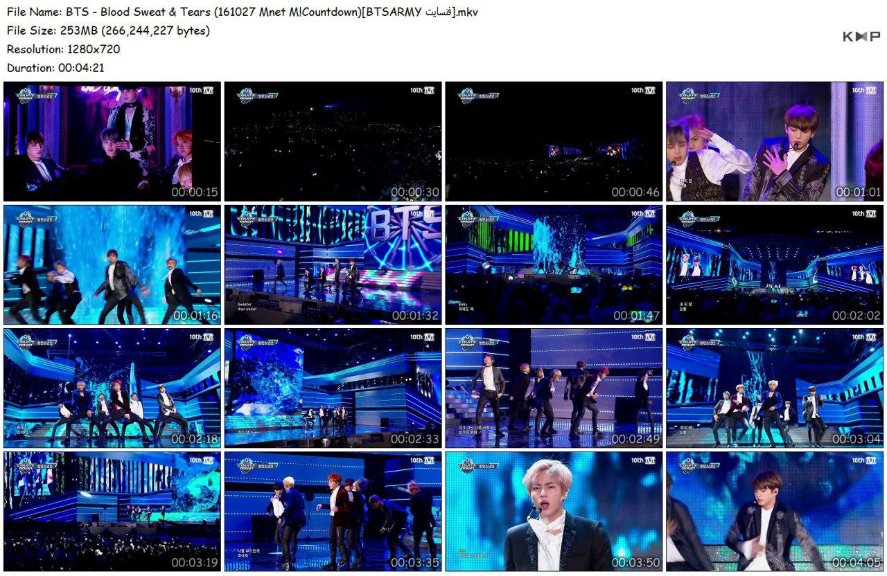 8vbk photo 2018 06 16 18 33 06 (3) - Video/Link] BTS Performance Music Show 2nd Full Album 'Wings' Blood Sweat & Tears]