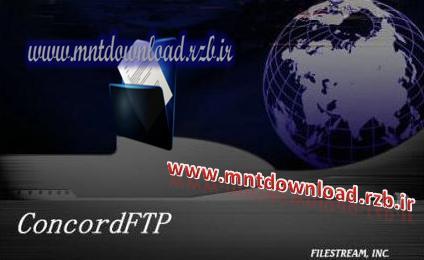 مدیریت و ارتباط با سرورهای FTP توسط ConcordFTP 5.0