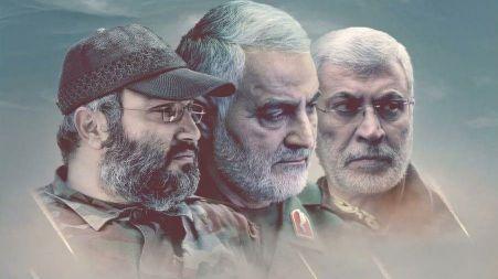 عکس سردار سلیمانی با داعش