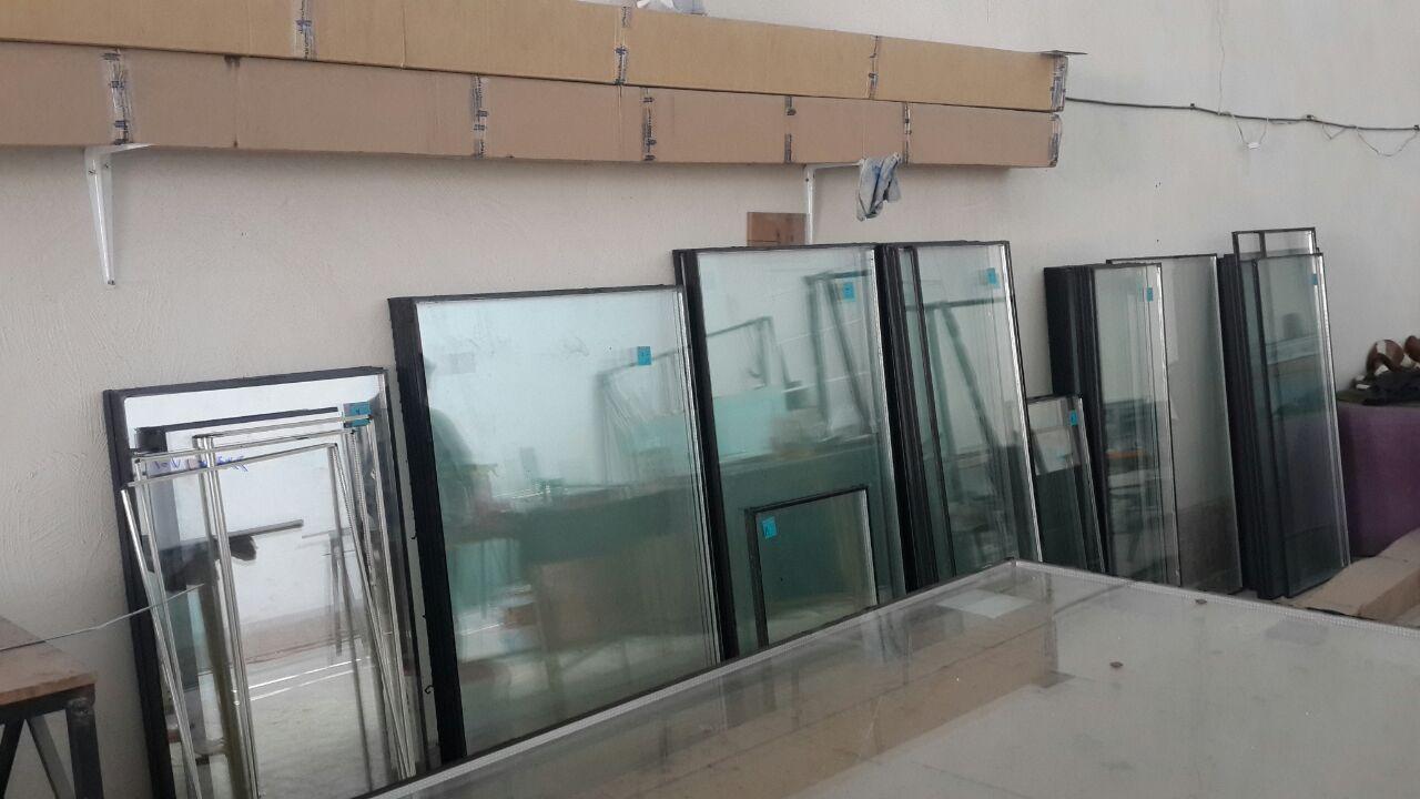 خم پروفیل upvc دو رو لمینیت وین تک -  پنجره دو جداره upvc دایره ای و گرد - پنجره منحنی ویترینی محدوده شهریار کرج شهر قدس upvc پنجره خم و قوس دار پنجره خاص و مدرن