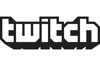 903f twitch logo eps vector image