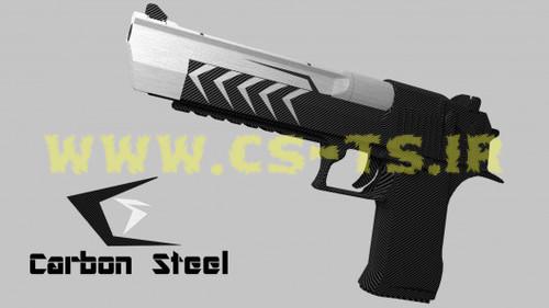 دانلود اسکین اسلحه ای carbon_steel برای کانتر گلوبال