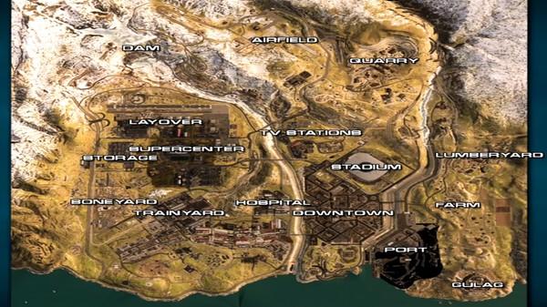 تاریخ احتمالی عرضه حالت بتل رویال بازی Call Of Duty Modern Warfare لو رفت + تصویر نقشه احتمالی