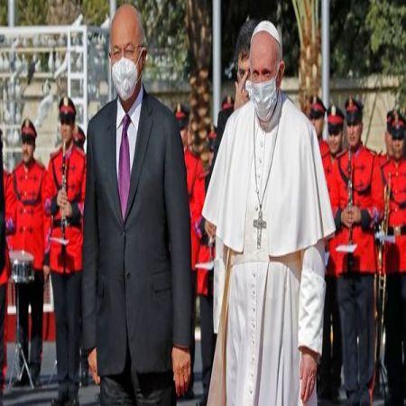 عکس پاپ فرانسیس در عراق