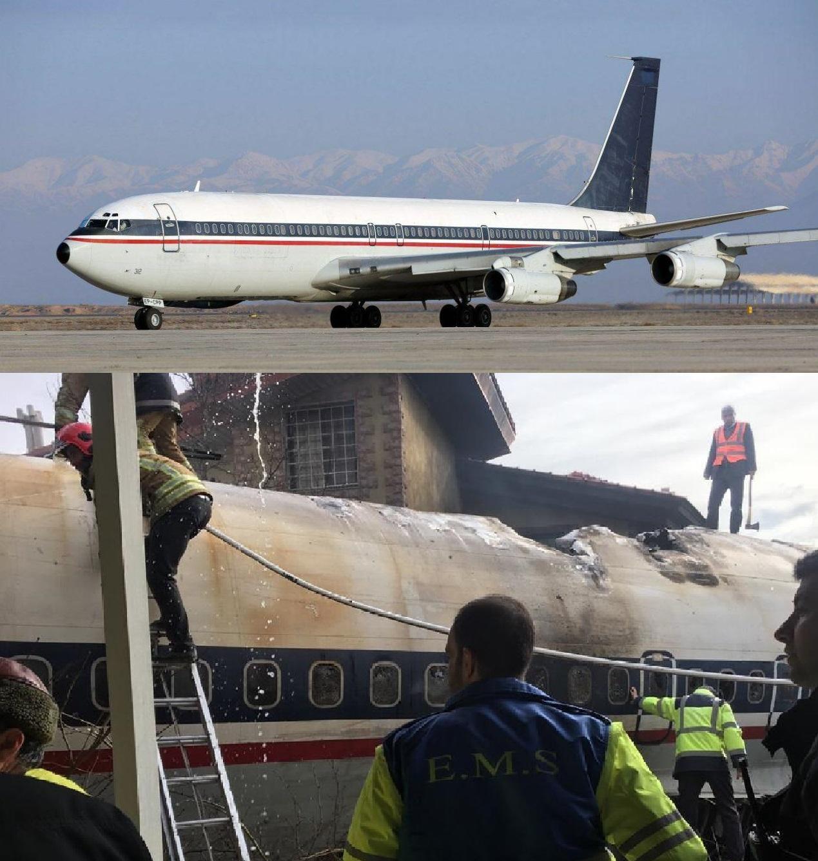 سقوط هواپیمای ارتش و شهادت امیر