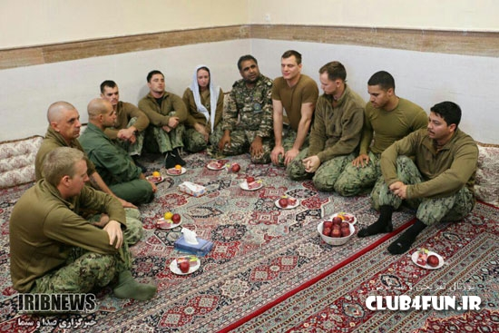 تصاویر جدید از نظامی آمریکایی در ایران