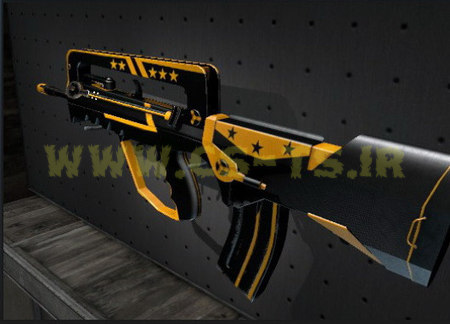 دانلود اسکین زیبای اسلحه ای clarion_00552 برای کانتر گلوبال