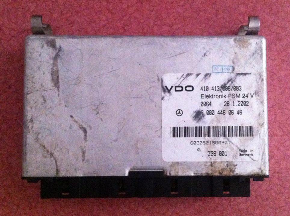 کنترل یونیت اکسور VDO مدل ELEKTRONIK PSM 24 V