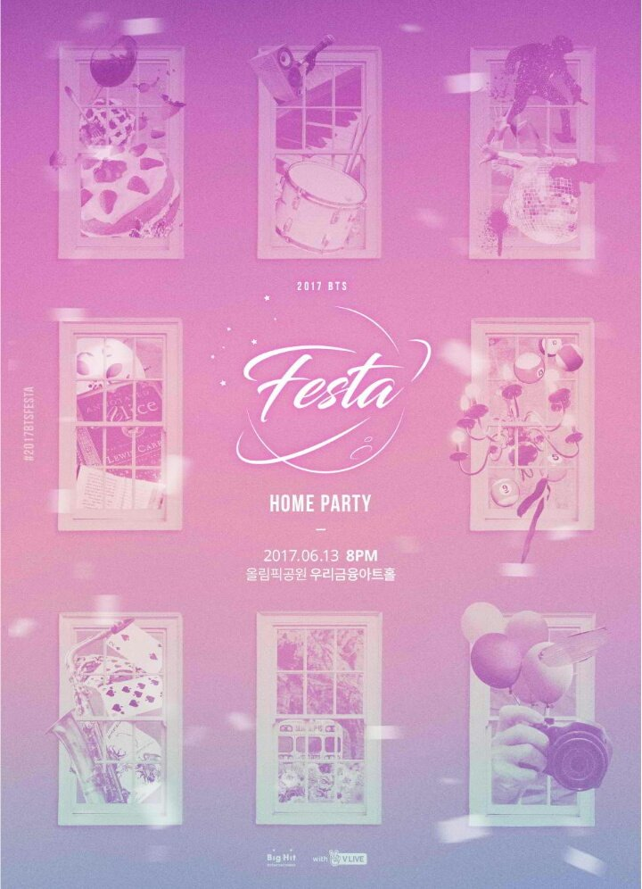 9hbj dfb2a62abcd094a905ba7aeff4f4bf6e610ae3a6 hq - [#2017BTSFESTA BTS HOME PARTY [170602