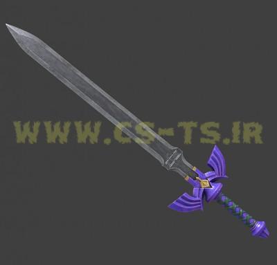 دانلود اسکین زیبای master_sword_zelda_knif برای کانتر گلوبال