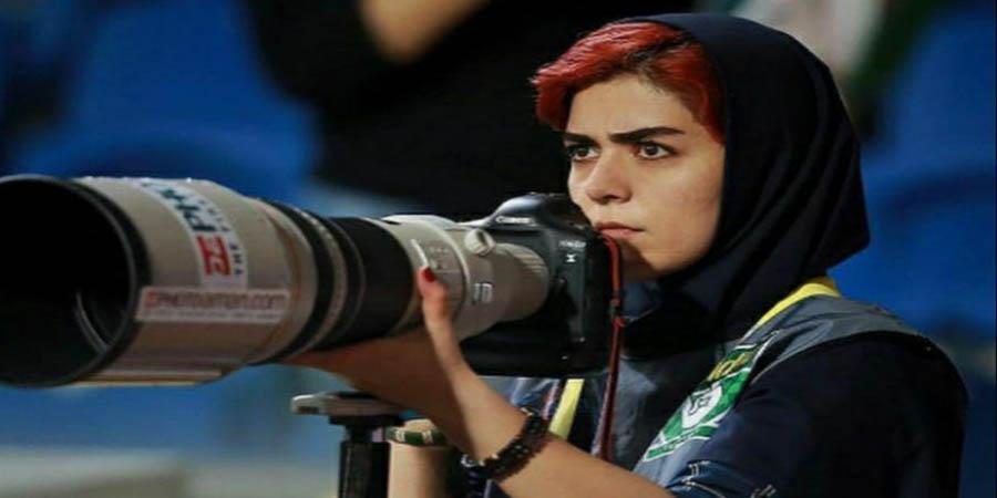 گزارش گاردین از عکاس ورزشگاه وطنی