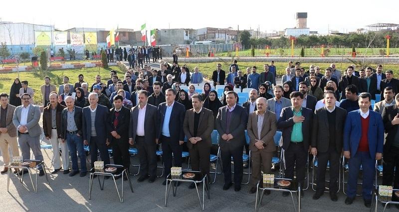افتتاح پارک یزدانی قائمشهر