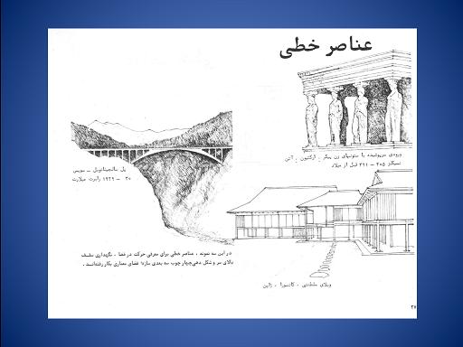 پاورپوینت عناصر اصلی در معماری