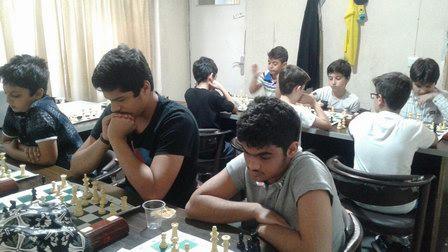 مسابقات شطرنج باشگاه ذهن برتر هفته دفاع مقدس در تاریخ ۹۷/۷/۵