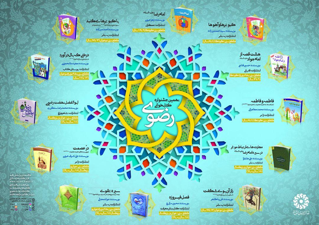 Image result for منابع نهمین جشنواره رضوی