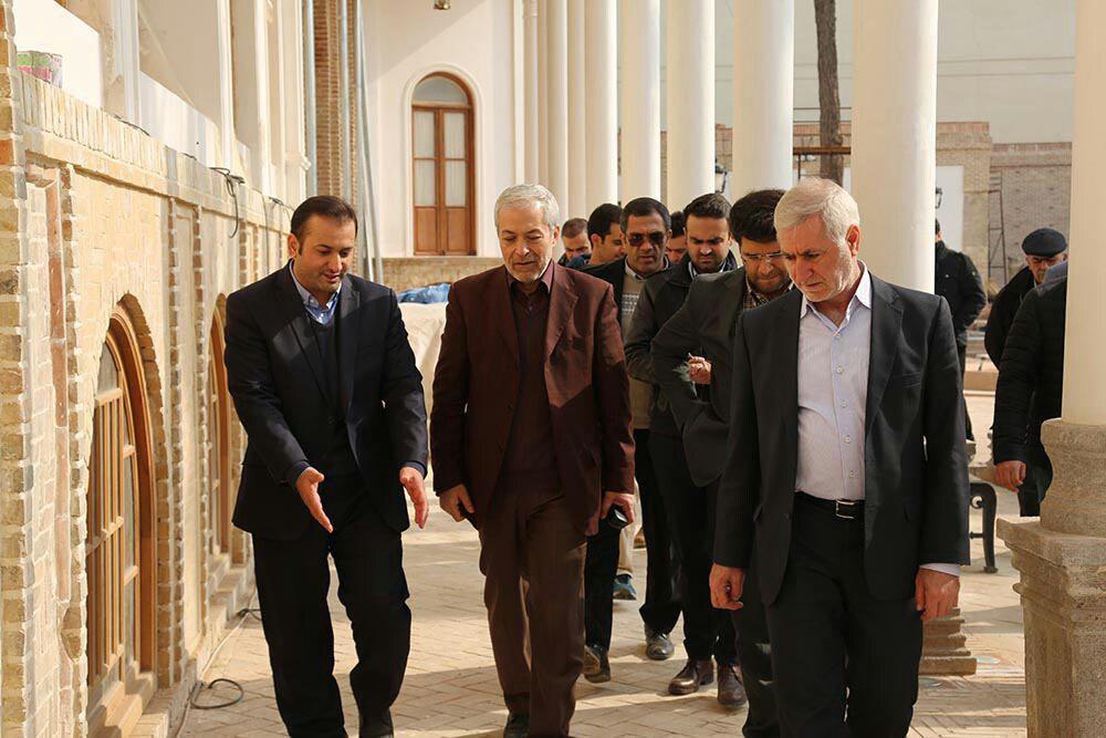 سید محمود میرلوحی به بازدید خانه های تاریخی و فرهنگی شهر تهران رفت