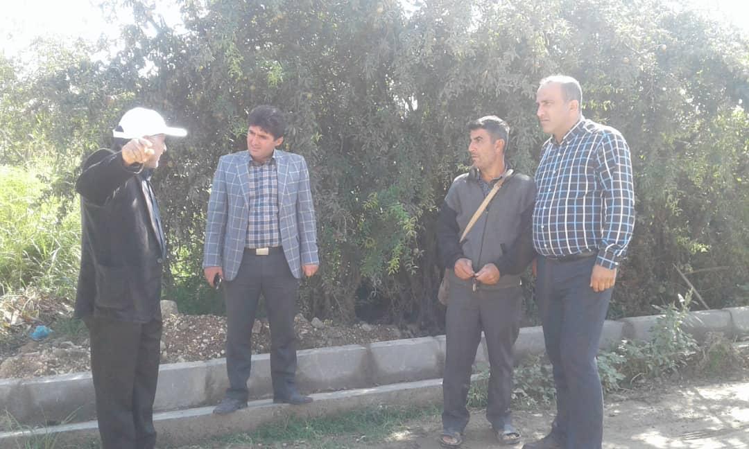 دهیار روستای کردخیل