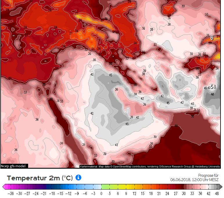 پیش بینی دمای هوا